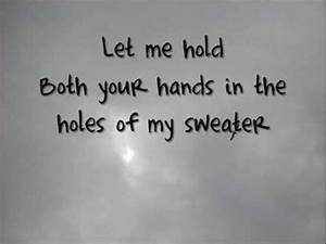 Da Fonts The Neighbourhood Sweater Weather Lyrics Youtube