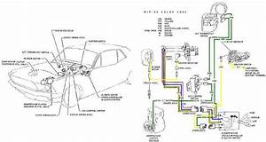 1973 Ford Mustang Color Wiring And Vacuum Diagrams