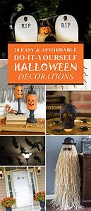 20, Super, Easy, U0026, Affordable, Diy, Halloween, Decorations