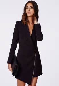 Long Black Dress with Blazer