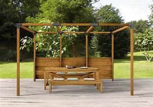 Support Poteau Brico Depot : poteau de pergola bois ~ Melissatoandfro.com Idées de Décoration