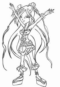 Sophix Flora Uncolored By Shinneth On Deviantart