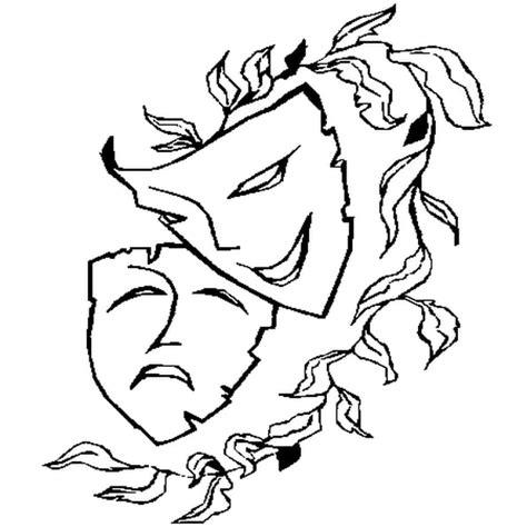 Masque De Venise  Coloriage Masque De Venise En Ligne