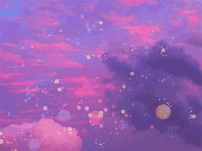 Pastel Galaxy Aesthetic Sky Purple Pixel Aesthetics