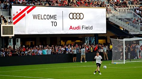 d c united audi field marred by reporter injury wifi problems