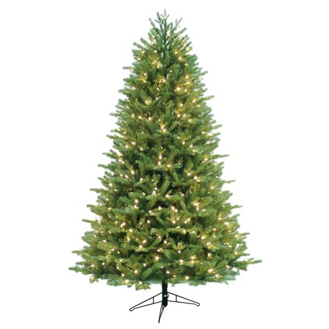 general electric 7 5 pre lit just cut balsam fir tree