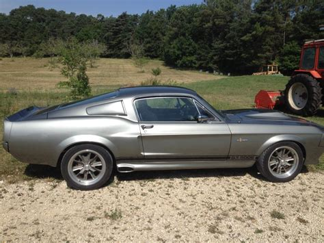 68 Ford Mustang by Ford Mustang Fastback Eleanore