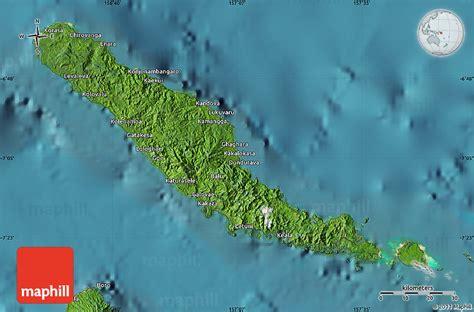 satellite map  choiseul