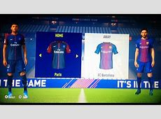 FIFA 18 Xbox 360PS3 BARCELONA VS PSG GAMEPLAY YouTube