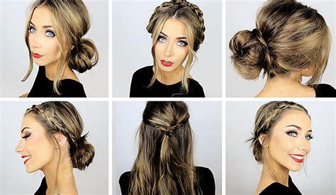 easy heatless hairstyles  work school danielle
