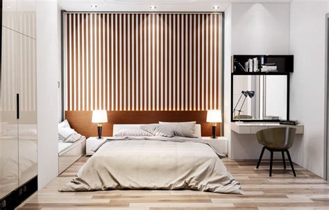 Slatted wood wall, slat wall mirror for years i am going to your wall slats wooden shelf long ikea wood sign wall panel slotted wall mirror check s wood sign wall decor made from walnut. 25 Beautiful Examples Of Bedroom Accent Walls That Use Slats To Look Awesome