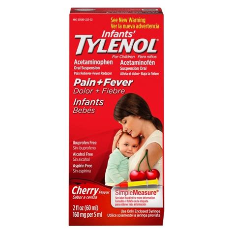 Baby Tylenol Infants Tylenol Pain Reliever And Fever Reducer Drops