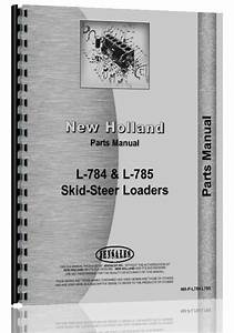 New Holland L785 Skid Steer Parts Manual