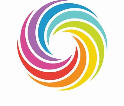 Transparent Clipart Rainbow Circle Bagel Colors Banner