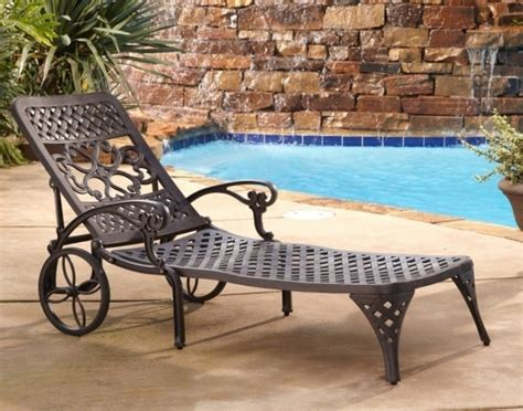 chaise metal vintage vintage metal wrought iron chaise lounge chairs with