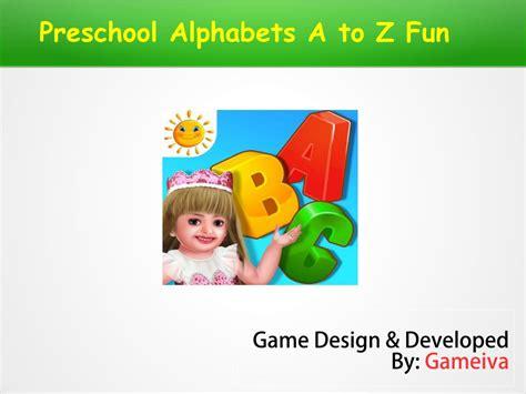 ppt preschool alphabets a to z for 990 | preschool alphabets a to z fun l
