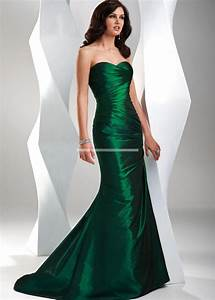 emerald green prom dress ballgown fashion pinterest With emerald green wedding dresses