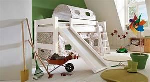 Hochbett Rutsche Weiß : rutschen hochbett aus kiefer kids dreams ~ Whattoseeinmadrid.com Haus und Dekorationen