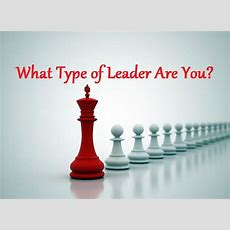 What Type Of Leader Are You?  Maria Barina Live