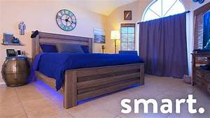 Epic Smart Home Bedroom Tech Tour! - YouTube