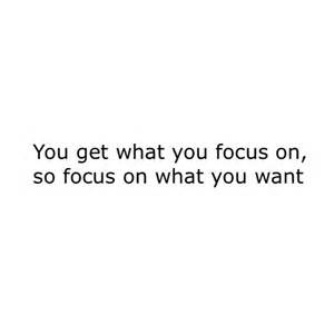 Laser-Like Focus On Quotes
