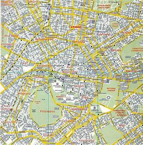 Χάρτης προαστιακού της Αθήνας