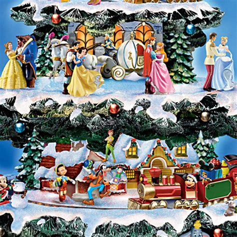 the ultimate disney 50 character tabletop christmas tree