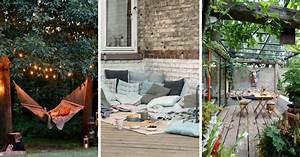 Cloturer Son Jardin Pas Cher : jardin 18 id es pour cr er un espace salon cosy et accueillant ~ Melissatoandfro.com Idées de Décoration