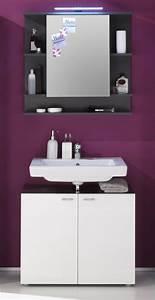 Badezimmer Spiegelschrank Günstig : spiegelschrank tetis grau g nstig online kaufen ~ Markanthonyermac.com Haus und Dekorationen