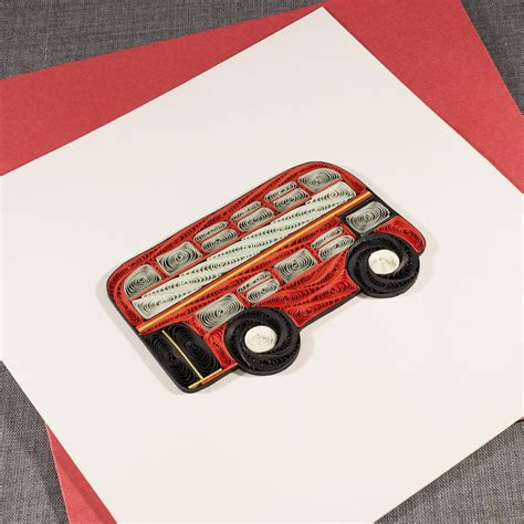 Find out which are the most important in the hobby and the best way to add some to your collection today! 3D Blank Quilled London Bus Quilling Card | Etsy | Quilling, Art and hobby, Hobby shops near me