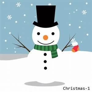 Cute Cartoon Christmas Snowman Mini Paint By Number Home ...