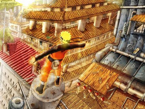 Konoha Village Naruto Shippuden Wallpapers