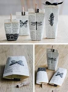Kleine Geschenke Verpacken : zeitungspapier geschenkverpackung selber machen und kleine geschenke sch n verpacken ~ Orissabook.com Haus und Dekorationen