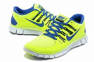 Buy Authentic Nike Free Run 5+ Mens Running Shoes Neon ...