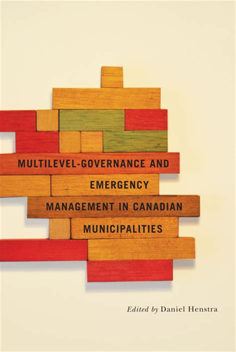 multilevel governance and emergency management in canadian