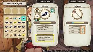 Atelier Ryza  Synthesis Guide