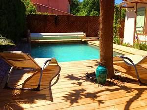Piscine Avec Terrasse Bois : piscine hors sol bois avec terrasse piscine hors sol bois avec terrasse with piscine hors sol ~ Nature-et-papiers.com Idées de Décoration
