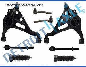 8pc Front Inner Outer Tierod Lower Control Arm Suzuki