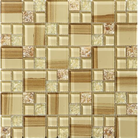 crackle glass tile hand paint cystal glass resin