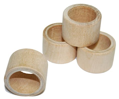 smooth napkin ring holder wedding napkin rings unfinished napkin ring holder diy