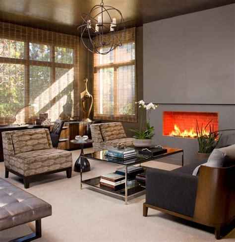 Hollywood Glamour Meets Modern - Modern - Living Room
