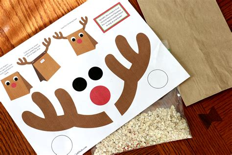 printable reindeer gift box search results calendar 2015