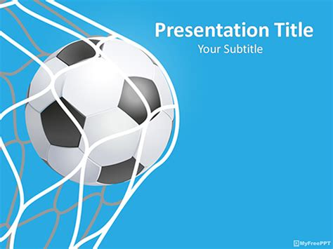 soccer template free sports powerpoint templates themes ppt