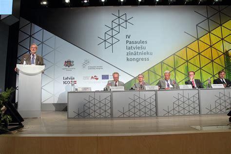 LU fotoarhīvs. IV Pasaules latviešu zinātnieku kongress ...