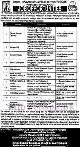 New Jobs IDAP Punjab Govt. Infrastructure Development ...