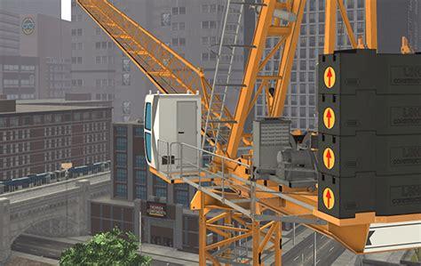 Luffing Tower Crane Simulator Training