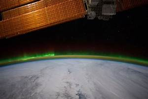 The Earth From Space: The Aurora Borealis Lights Up the ...