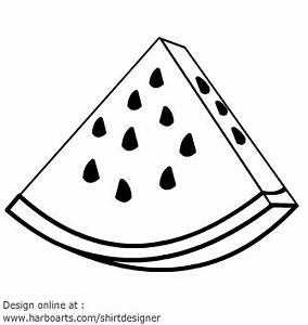 Watermelon Drawing - ClipArt Best