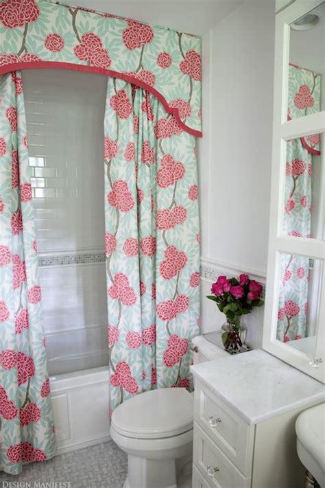 bathroom valance ideas shower curtain valance contemporary bathroom design manifest