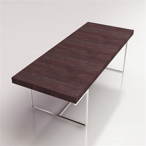 counter high table and chairs 3d b b italia athos table high quality 3d models